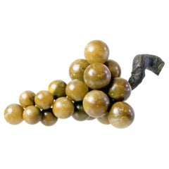Large Midcentury Italian Alabaster Grapes