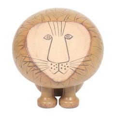 Large Midcentury Lion Figurine by Lisa Larson, 1960s