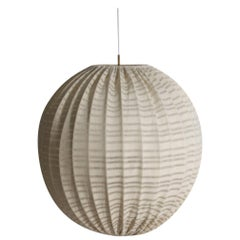 Large Midcentury Pendant by Hans Agne Jacobsson, Made in Sweden