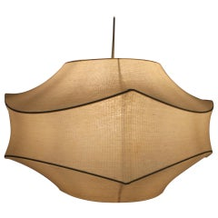 Large Midcentury Pendant Cocoon Designed by Achille Castiglioni, Italy, 1960s