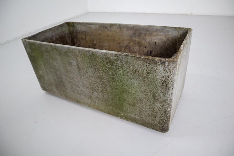 20th Century Large Midcentury Planter by Swiss Architect Willy Guhl for Eternit, 1960s For Sale
