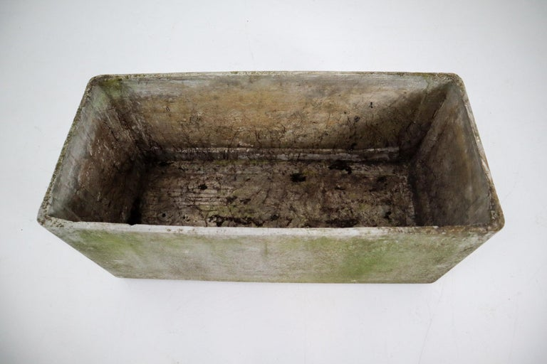 Concrete Large Midcentury Planter by Swiss Architect Willy Guhl for Eternit, 1960s For Sale