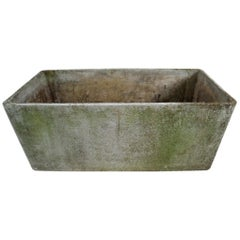 Large Midcentury Planter by Swiss Architect Willy Guhl for Eternit, 1960s