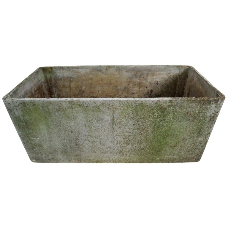 Large Midcentury Planter by Swiss Architect Willy Guhl for Eternit, 1960s For Sale