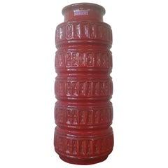 Large Midcentury Vase Scheurich, West Germany, 1970s