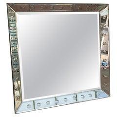 Large Mirror Art Deco Style, circa 2005