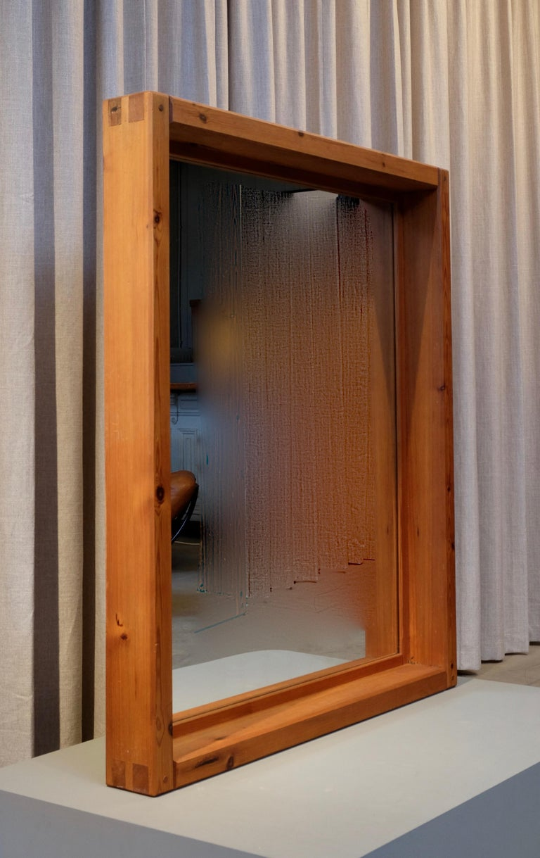 Large Mirror by Roland Wilhelmsson, 1960s For Sale 4