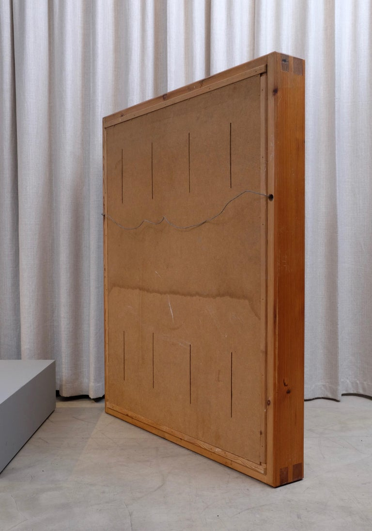 Large Mirror by Roland Wilhelmsson, 1960s For Sale 1