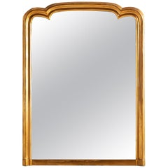 Large Mirror with Unique Arched Top