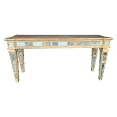 Large Mirrored Italian Console