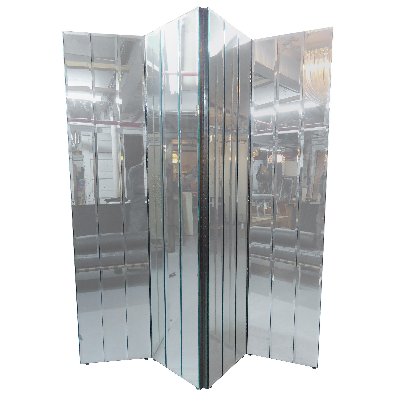 Large Mirrored Screen