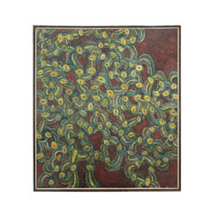 Large Modern Abstract Painting 1960's