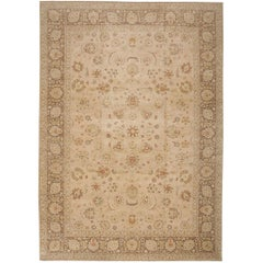 "Large Modern Contemporary Tabriz Design Egyptian Rug. Size: 12' 1"" x 16' 7"""