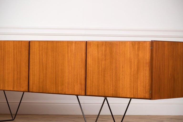 Large Modern Midcentury Sideboard Minimal Design For Sale 2