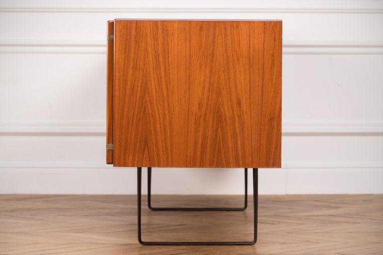 Large Modern Midcentury Sideboard Minimal Design For Sale 4