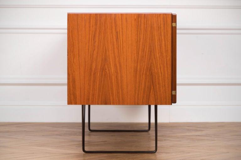 Large Modern Midcentury Sideboard Minimal Design For Sale 5