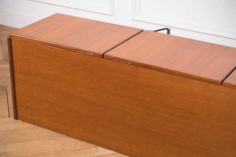 Large Modern Midcentury Sideboard Minimal Design For Sale 7
