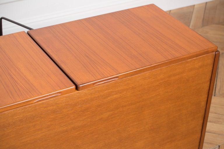 Large Modern Midcentury Sideboard Minimal Design For Sale 8