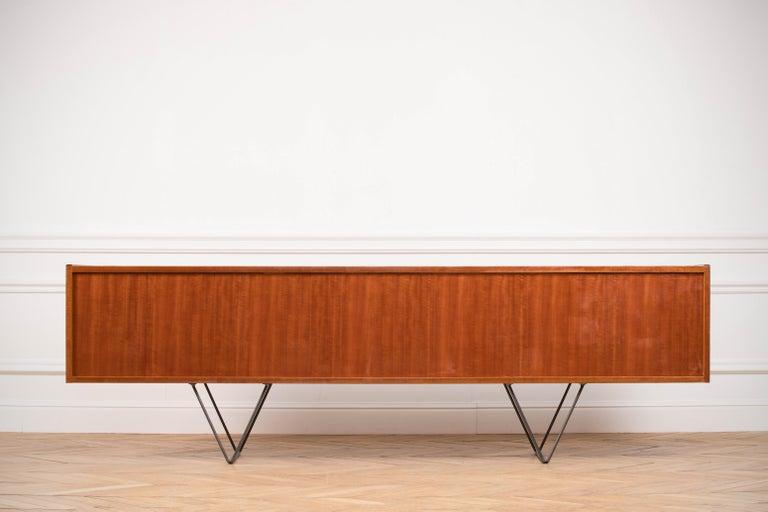 Large Modern Midcentury Sideboard Minimal Design For Sale 10