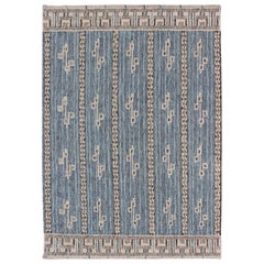 Large Modern Scandinavian/Swedish Geometric Design Rug