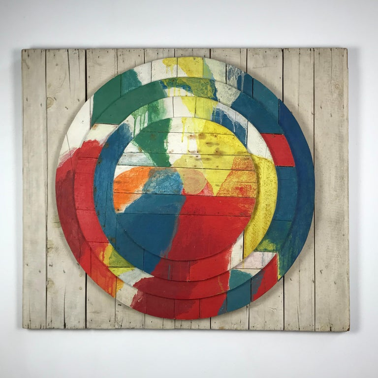 Large Modernist Abstract Relief