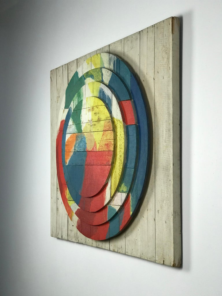 Dutch Large Modernist Abstract Relief