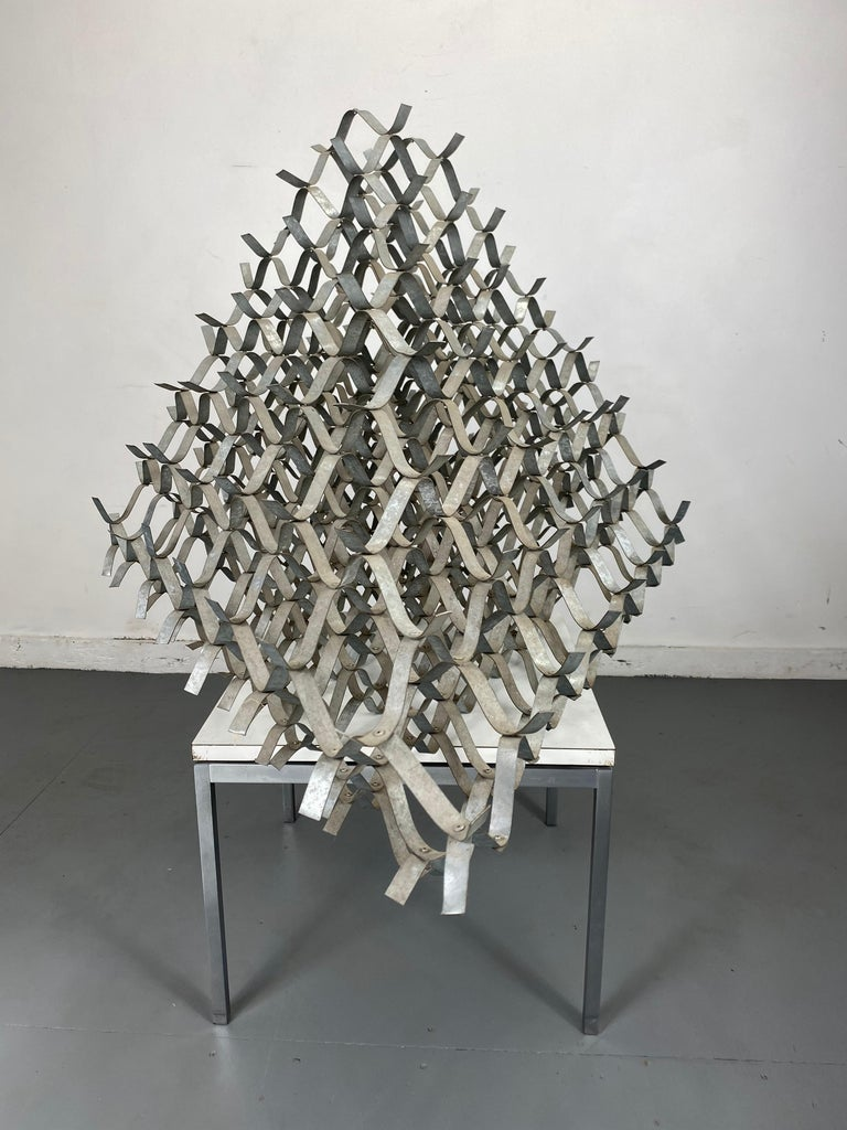 Large Modernist Abstract Sculpture