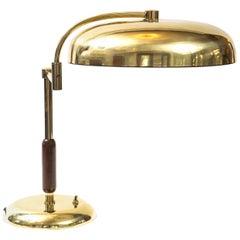 Large Modernist Table Lamp, Maison Desny, 1930
