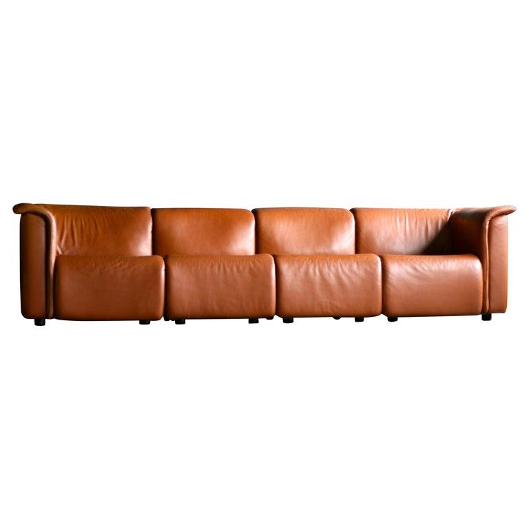 Large Modular Sofa by Wittmann Moebelwerkstaetten For Sale