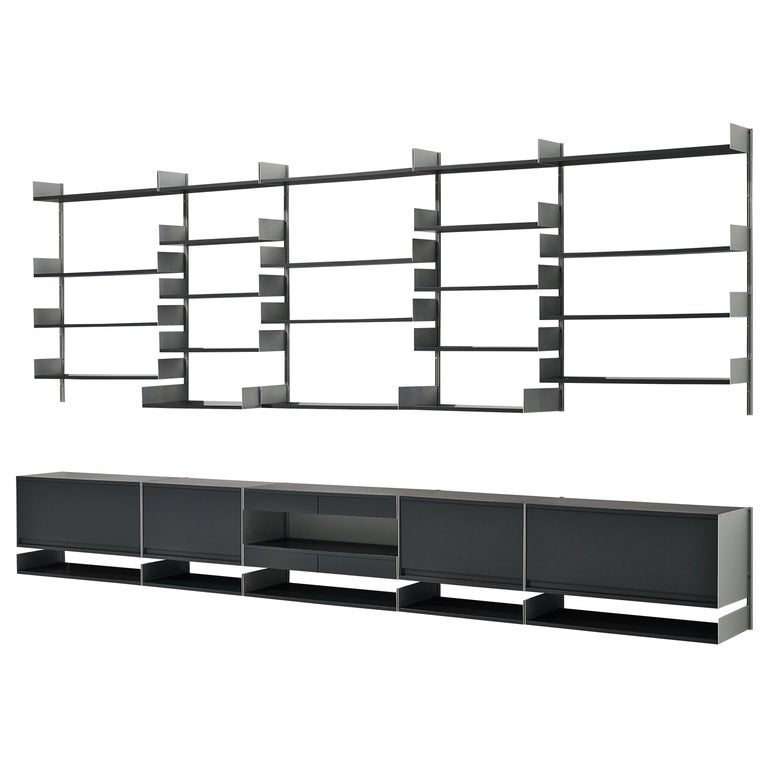 Dieter Rams modular wall unit, 1960s, offered by MORENTZ