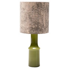 Large Moss Holmegaard Table Lamp