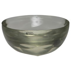Large Murano Glass Bowl by Seguso