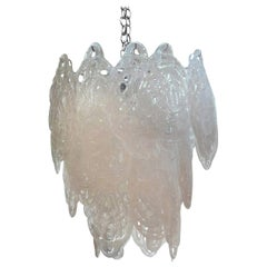 Large Murano Glass Chandelier by Mazzega