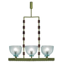 Large Murano Glass Chandelier by Seguso