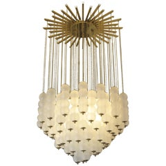 Large Murano Glass Chandelier, Italy