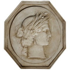 Large Museum Copy of a Classical Greco/Roman Plaque, circa 1880