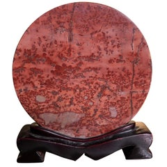 Large Natural Red Viewing Stone, Collector's Delight, Fine Gift