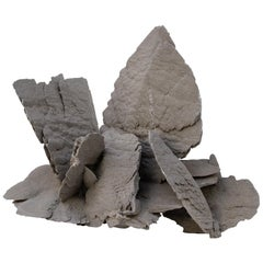 Large Natural Selenite Cluster Mineral
