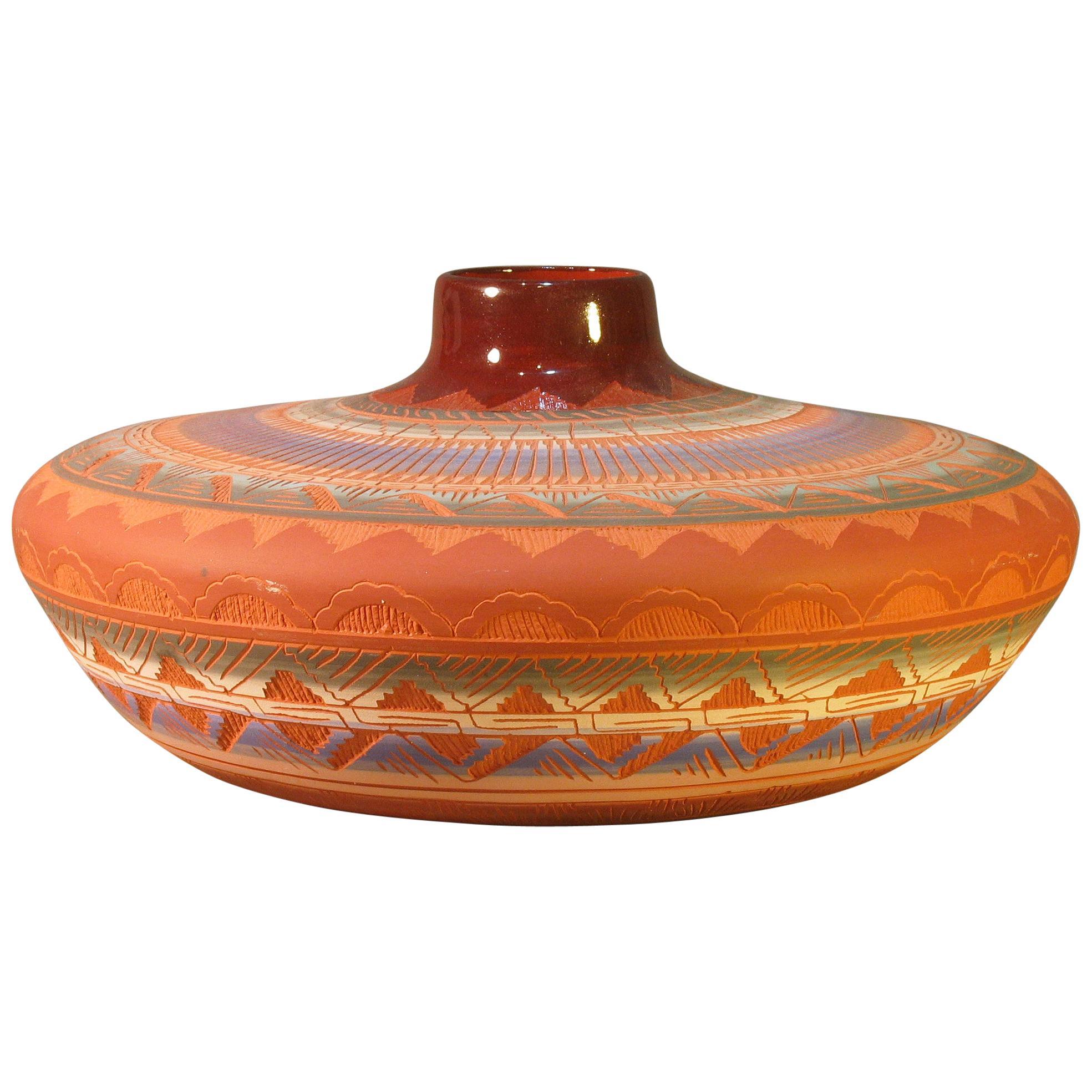 Large Navaho Pottery Jar, 20th Century