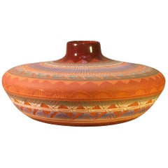 Large Navaho Pottery Jar, 20th Century