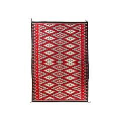 Large Navajo Ganado Native American Weaving