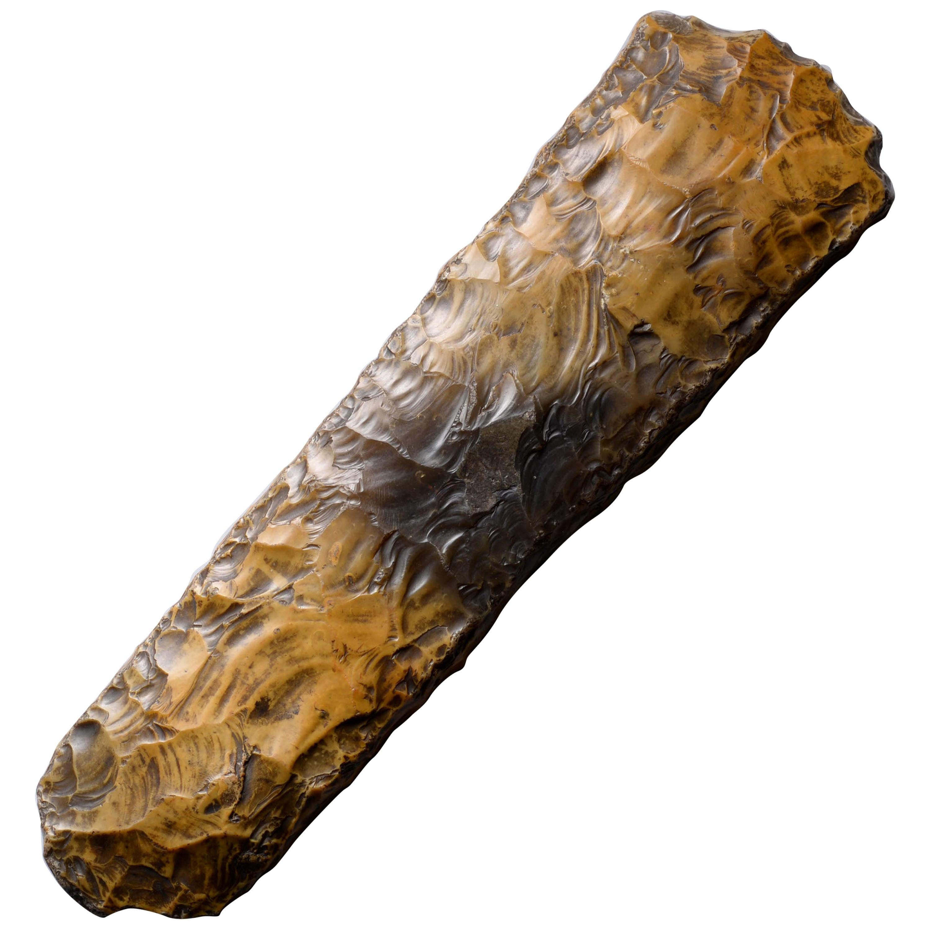 Large Neolithic Flint Axe from Sweden