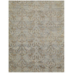 Large New Handmade Wool Modern Contemporary Design Rug