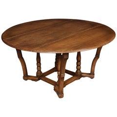 Large Oak Gateleg Table