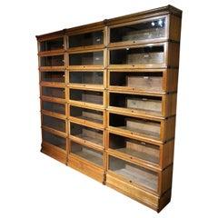Large oak Globe Wernicke Bookcase