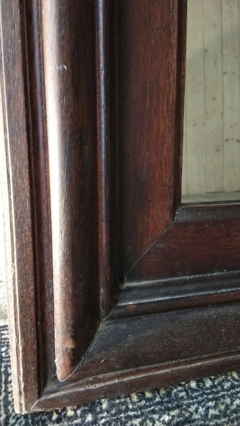 Large Oak Mirror, France, 19th Century In Good Condition For Sale In Lectoure, Occitanie