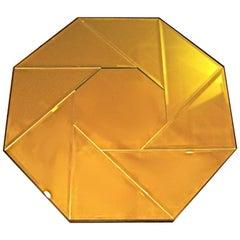 Large Octagonal Pinwheel Pattern Mirror