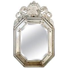 Large Octagonal Venetian Mirror