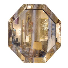 Large Octagonal Mirror, Contemporary Work