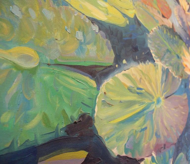 20th Century Large Oil on Canvas Jan Kasprzycki